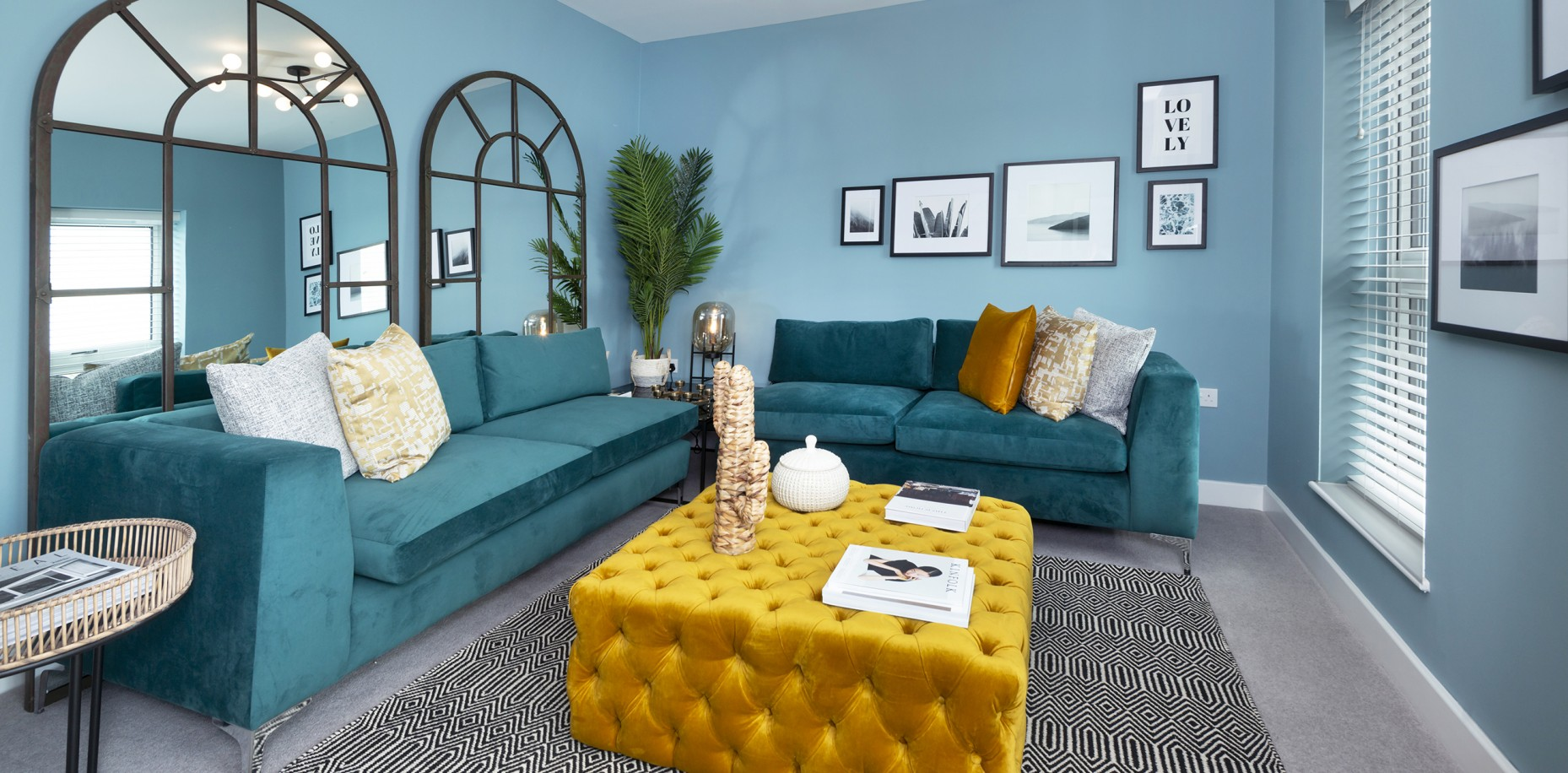 How we can make our homes inspiring, comfortable and practical with interior design.