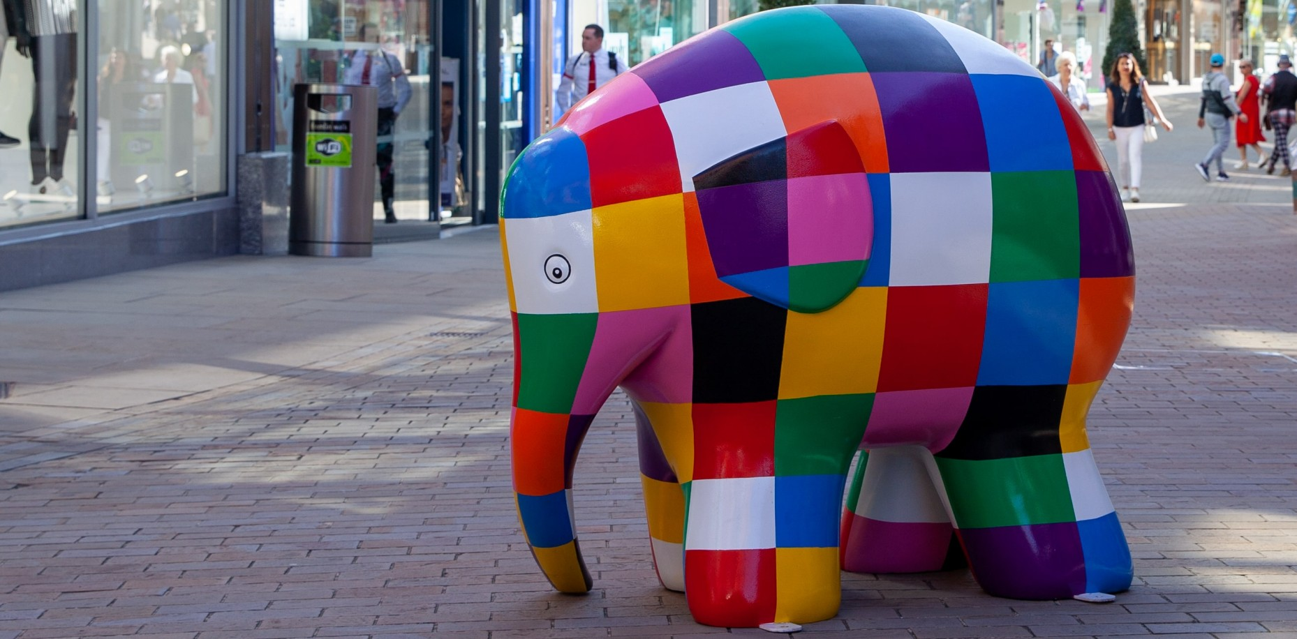 Elmer's Big Heart of Kent Parade in Maidstone is open from tomorrow; it's going to be fabulous