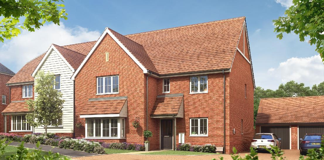 Beautiful spacious 5 bedroom detached homes with double garage in Coxheath, Maidstone.