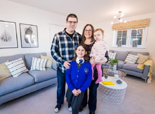 Family find their forever home at new Kent neighbourhood